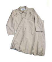 ISSEY MIYAKE(イッセイミヤケ)の古着「セットアップスーツ」|ベージュ