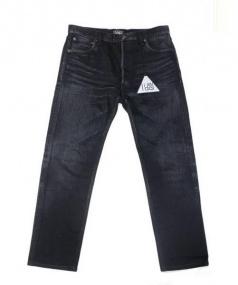 LIDEAL(リデアル)の古着「デニムパンツ」 ブラック