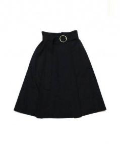 OPENING CEREMONY(オープニングセレモニー)の古着「フレアスカート」|ブラック