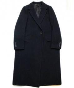 ADORE(アドーア)の古着「ファインメルトンコート」|ネイビー