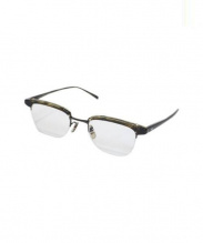 OLIVER PEOPLES(オリバーピープルズ)の古着「伊達眼鏡」|ブラウン