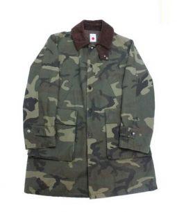marka(マーカ)の古着「ミリタリージャケット」|ブラウン×グリーン