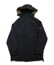 TOYPLANE(トイプレーン)の古着「モッズコート」|ブラック