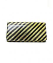 BALENCIAGA(バレンシアガ)の古着「長財布」|ブラック×ゴールド