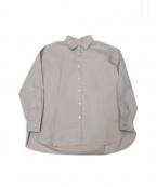BARBA(バルバ)の古着「ワイドシャツ」|ピンク