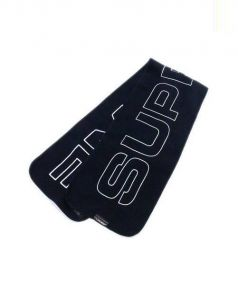 SUPREME(シュプリーム)の古着「polartec logo scarf」|ネイビー