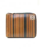 LOEWE(ロエベ)の古着「2つ折り財布」|ブラウンブラウン