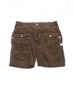 SASSAFRAS(ササフラス)の古着「BOTANICAL SCOUT PANTS 1/2」|ブラウン