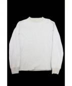 FilMelange(フィルメランジェ)の古着「ロングスリーブカットソー」|グレー