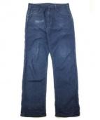 bukht(ブフト)の古着「8分丈パンツ」|インディゴ