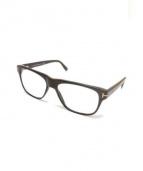 TOM FORD(トムフォード)の古着「伊達眼鏡」|ブラウン