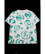 J.W. ANDERSON(ジェイダブリューアンダーソン)の古着「プリントTシャツ」|グリーン