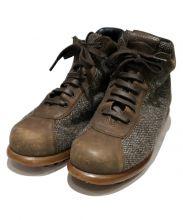 CAMPER(カンペール)の古着「切替ブーツ」