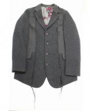 BRU NA BOINNE(ブルーナボイン)の古着「ウールテーラードジャケット」 ベージュ