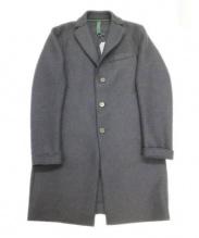 HARRIS WHARF LONDON(ハリス・ワーフ・ロンドン)の古着「チェスターコート」|ネイビー