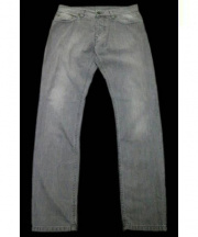 AMI Alexandre Mattiussi(アミ アレクサンドル マテュッシ)の古着「Jeans 5 pocket」 グレー