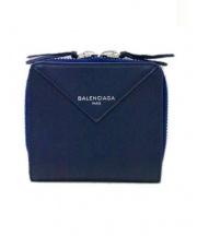 BALENCIAGA(バレンシアガ)の古着「2つ折り財布」|ネイビー