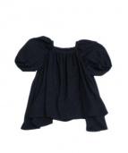 LIMI feu(リミフゥ)の古着「デザインブラウス」|ブラック