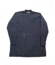 COMOLI(コモリ)の古着「ブロードバンドカラーシャツ」|グレー
