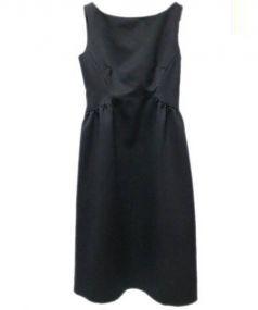 CELFORD(セルフォード)の古着「グログランワンピース」|ブラック