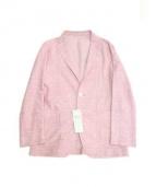 Paul Stuart(ポール スチュアート)の古着「テーラードジャケット」|ピンク