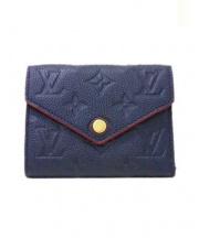 LOUIS VUITTON(ルイ・ヴィトン)の古着「3つ折り財布」 ネイビー(マリーヌルージュ)
