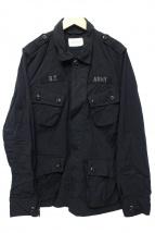 BRIGHT THINGS(ブライトシングス)の古着「ミリタリージャケット」|ブラック
