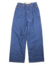 WESTOVERALLS(ウェストオーバーオールズ)の古着「803W Denim Wide Pants」 インディゴ