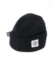 STONE ISLAND(ストーンアイランド)の古着「ニット帽」|ブラック