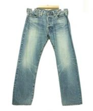 eYe COMME des GARCONS JUNYAWATANABE MAN(アイ コムデギャルソン ジュンヤワタナベマン)の古着「デニムパンツ」|ブルー