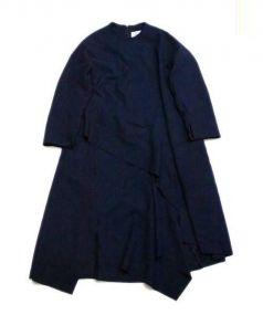ENFOLD(エンフォルド)の古着「ワンピース」|ネイビー