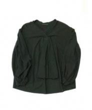 AP STUDIO(エーピー ストゥディオ)の古着「Garment dye Voile」 ブラック