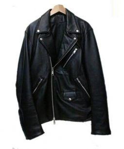 JUN RED(ジュンレッド)の古着「ライダースジャケット」 ブラック