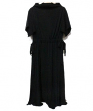 ADORE(アドーア)の古着「ドライジャージーワンピース」 ブラック