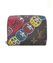 LOUIS VUITTON(ルイ・ヴィトン)の古着「ラウンドファスナー財布」 ブラウン
