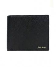 Paul Smith(ポールスミス)の古着「2つ折り財布」 ブラック