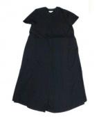 blackmeans(ブラックミーンズ)の古着「バックオープンワンピース」|ブラック