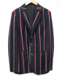 District UNITED ARROWS(ディストリクト ユナイテッドアローズ)の古着「テーラードジャケット」 ネイビー