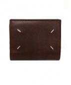 Martin Margiela11(マルタンマルジェラ 11)の古着「2つ折り財布」|ブラウン