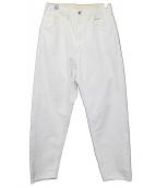 bukht(ブフト)の古着「BIG DENIM PANTS」|ホワイト