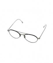 EYEVAN 7285(アイヴァン7285)の古着「伊達眼鏡」|ブラック