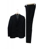 ABAHOUSE ecru(アバハウス エクリュ)の古着「セットアップスーツ」|ネイビー