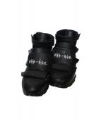 KIDS LOVE GAITE(キッズラブゲイト)の古着「Velcro Sneaker」|ブラック