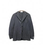 BOGLIOLI(ボリオリ)の古着「テーラードジャケット」 グレー