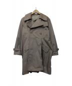 MIU MIU(ミュウミュウ)の古着「トレンチコート」 ベージュ