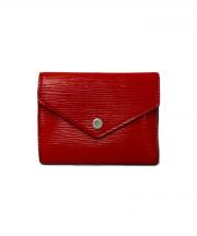 LOUIS VUITTON(ルイ・ヴィトン)の古着「3つ折り財布」 レッド