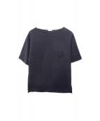 COMOLI(コモリ)の古着「ポケットTシャツ」 ネイビー