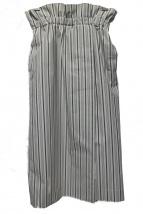 INED(イネド)の古着「ハイウエストストライプタイトスカート」