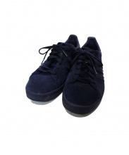 adidas(アディダス)の古着「ローカットスニーカー」|ネイビー