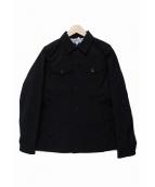 COMME des GARCONS COMME des GARCONS(コムデギャルソンコムデギャルソン)の古着「ワークジャケット」|ブラック